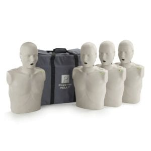 adult prestan manikin with cpr monitor
